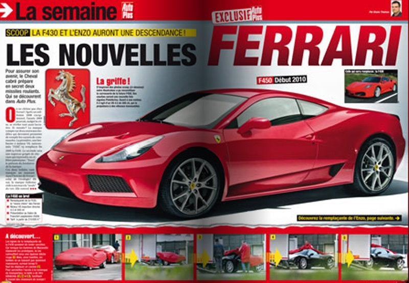 Is This The New 500 HP Ferrari F450?