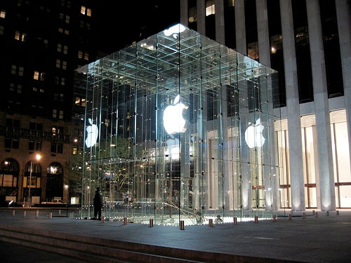 """NYC Apple Store Scrapped: Area Too """"Middle America"""""""