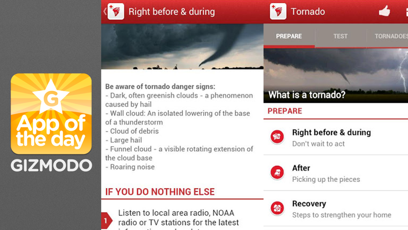 Red Cross Tornado App: What To Do When a Twister Touches Down