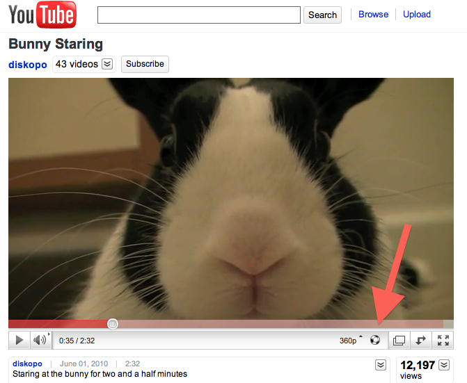 YouTube Videos Now Have A Vuvuzela Button