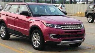 This Is Not A Range Rover Evoque