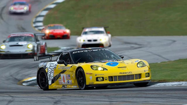 Did GM illegally block a competitor to its Corvette race team?