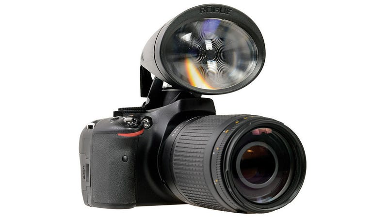 This Extra Lens Is Like a Megaphone For Your DSLR's Pop-up Flash