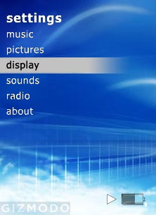Zune Interface Update - Now In Color