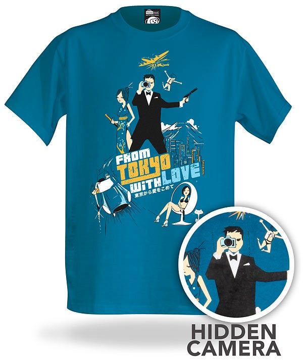 ThinkGeek's New Spy Shirt Hides an Actual Working Spy Cam