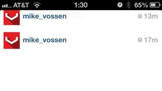Vossen freaks out over a photo of their broken wheel online..