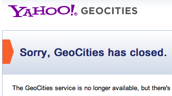 If You Want to Download All 900 Gigabytes of Geocities, Now You Can