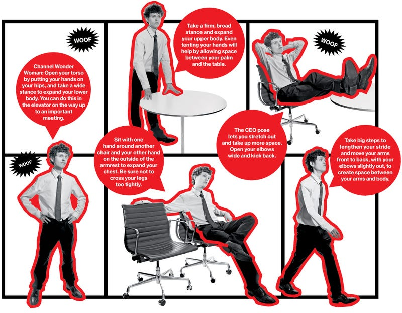 Adopt One of These Postures To Reduce Stress and Build Confidence