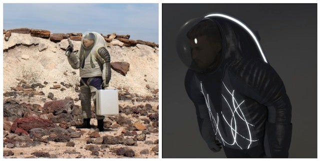 What Will The Spacesuits Of The Future Look Like? In A Word, Awesome.