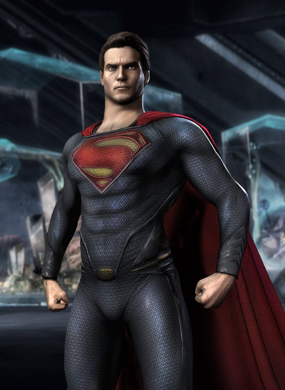 General Zod and Man of Steel 's Superman Fly Into Injustice Next Month