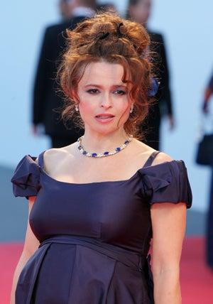 Helena Bonham Carter Births Goth Girl