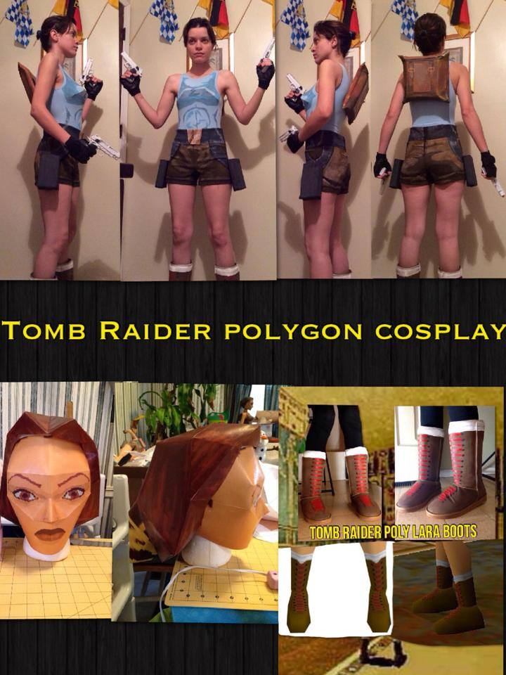 A Very Different Kind Of Tomb Raider Cosplay