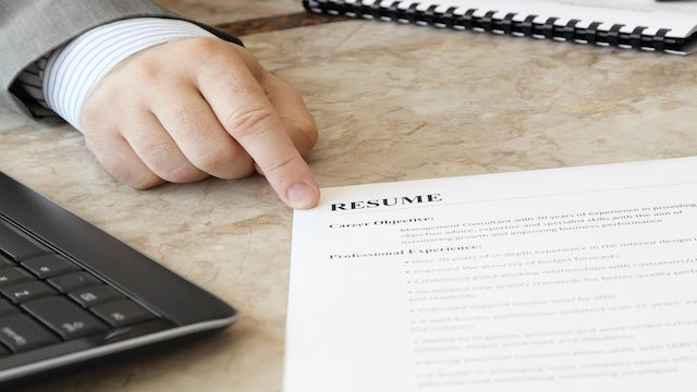 Think Outside the Box to Get Your Resume Noticed