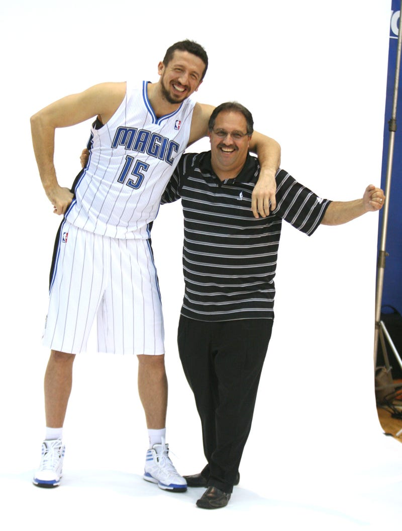 The Lockout Is Forgiven, Now That We Have This Photo Of Hedo Turkoglu and Stan Van Gundy