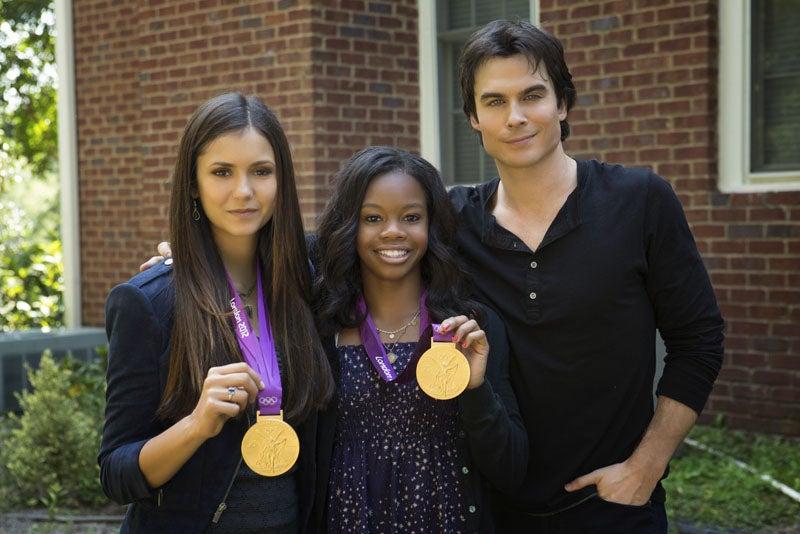 The Vampire Diaries Gabby Douglas