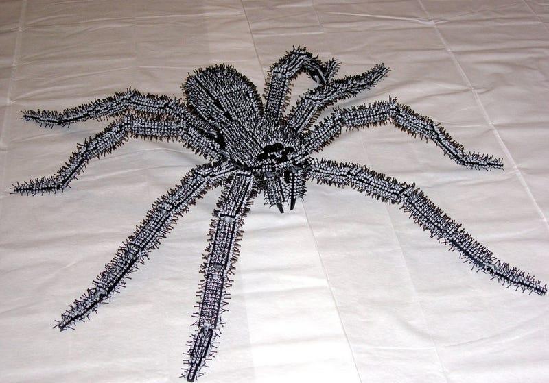 Giant Lego Tarantula Grosses Me Out