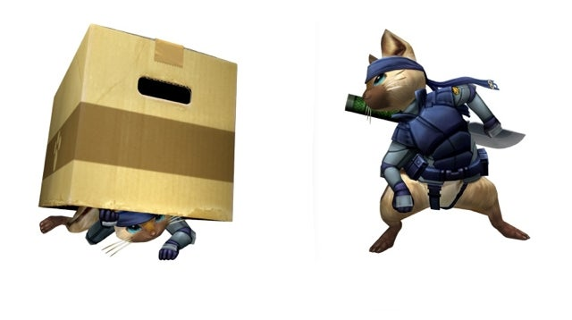 This Cat Is Going Stealth, Metal Gear Stealth