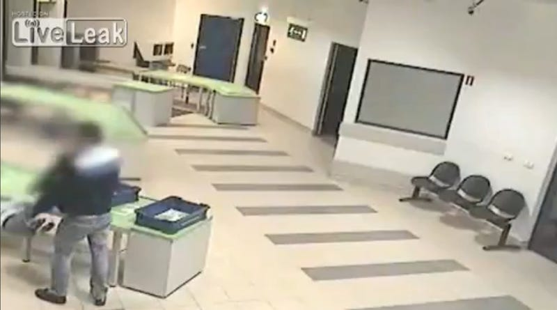 Airport Security Guard Makes Amazing Last Second Catch of Falling Baby