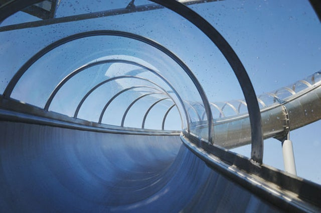 Take a Wild Ride on This 100-Foot-Tall Twisty Slide