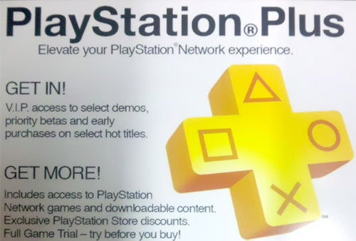 PlayStation Plus Cards Hitting Retail