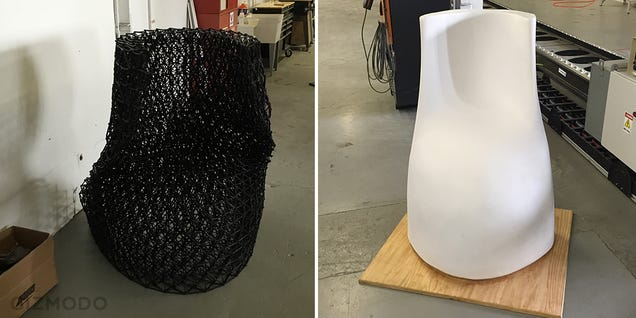 The World's Biggest Free Form 3D Printer Is Being Used to Build Houses