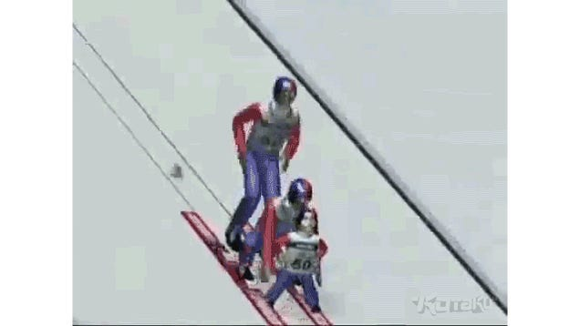 The Way Americans Ski Jump Is Bonkers...According to a Japanese Game