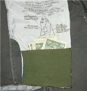 Hide your cash in a hidden pocket