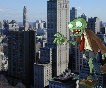 Plants Vs. Zombies In The Streets Of New York