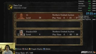 <i>Dark Souls</i> Speedrunner Breaks World Record Without Realizing It