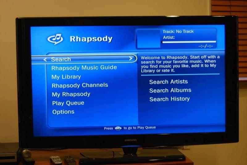 TiVo Rocks the Rhapsody Music Service