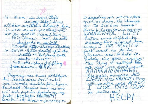 Teenage Wasteland: Your Old Diaries Are Awkward, Awe-Inspiring