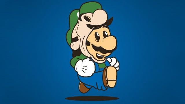 Tanooki Suit, Frog Suit...Luigi Suit?