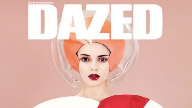 Kendall Jenner Channels '60s Space Queens on New Dazed Cover