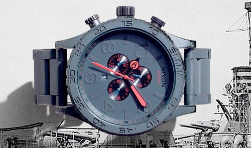 Clumsy Watch-Wearers Rejoice Over Nixon's Gunship Watches
