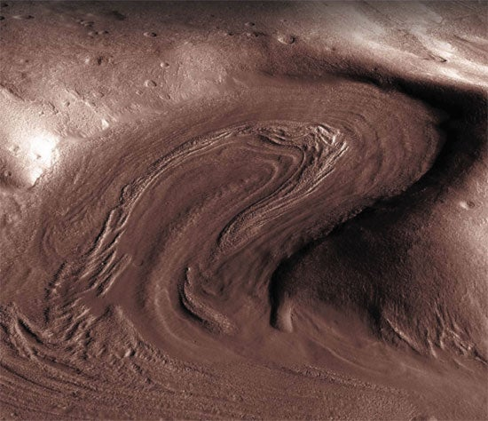 Martian Ice Ages Bolster Case for Life on Red Planet