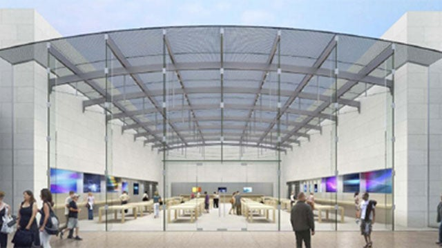Glass Apple Store Gets Green Light