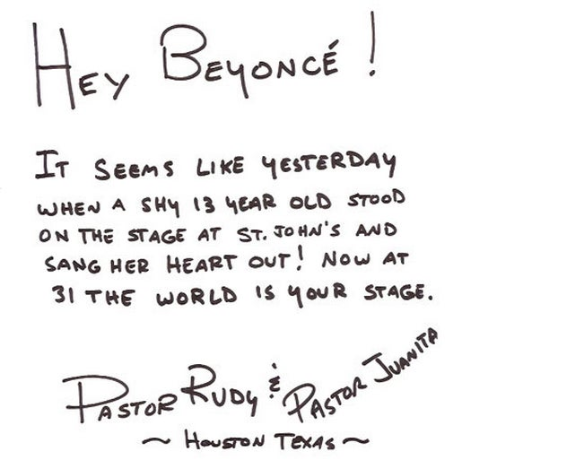 An Analysis of Beyoncé's Celeb-Studded Birthday Card: Who Loves Her the Most?
