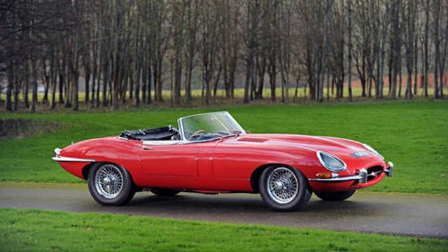 Elton John's Jaguar E-Type Brings $130,000 At Auction