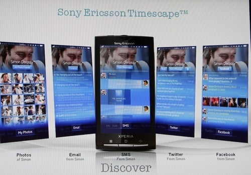 Sony Ericsson's Custom Android Interface Is Called Nexus