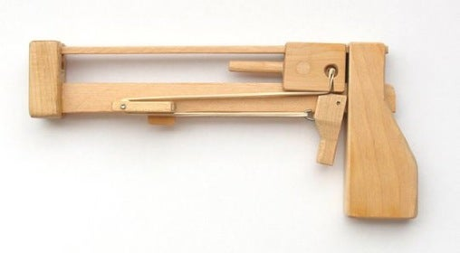 DIY Pistol Shoots Out Blocks So You Can Win at Jenga Every Time