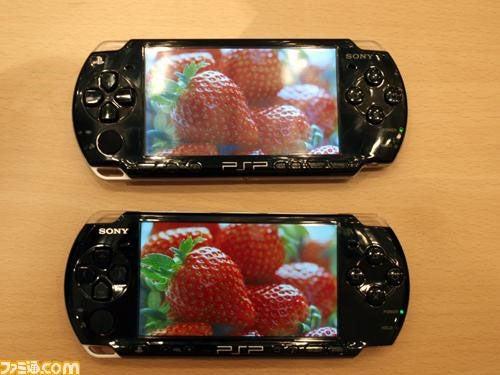 PSP-2001 vs PSP-3000