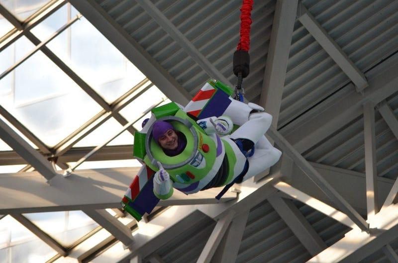 io9 Halloween Costume Show Week 2: A Bungee-Jumping Buzz Lightyear, a Handmade Vampire Diaries Dress, and More!