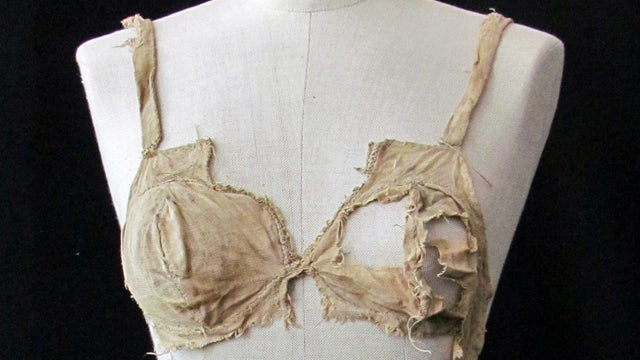Some Trick Left Her Old Bras in a Castle, Now Everything We Thought We Knew About Bras Is a Lie