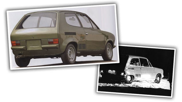 This Fascinating Stillborn VW Prototype Would Have Been Revolutionary