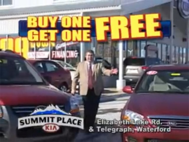 The Ten Most Desperate Ploys To Get You To Buy A Car