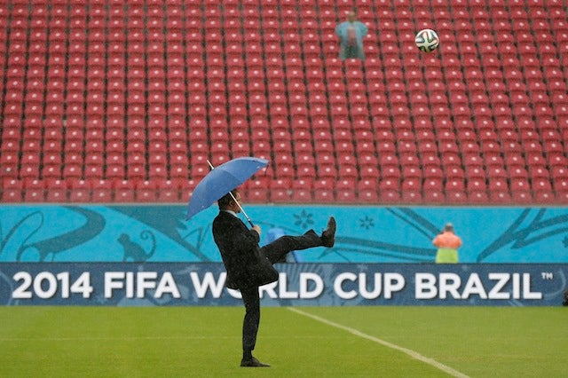 The Ministry Of Silly Walks Tests The Pitch In Recife