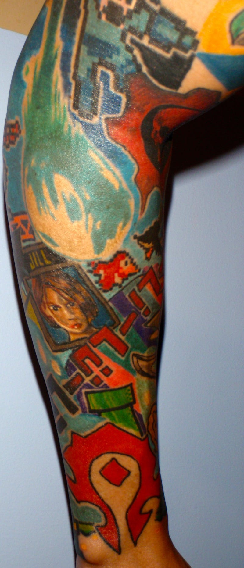 Your Favorite Video Game Is Probably Part of This Guy's Amazing Tattoo