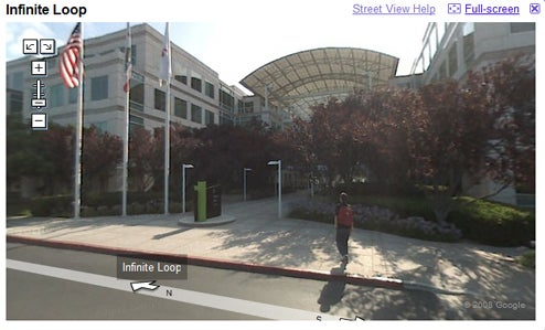 Tour Infinite Loop With Google Street View