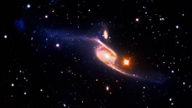 NASA says NGC 6872 is the largest spiral galaxy ever discovered