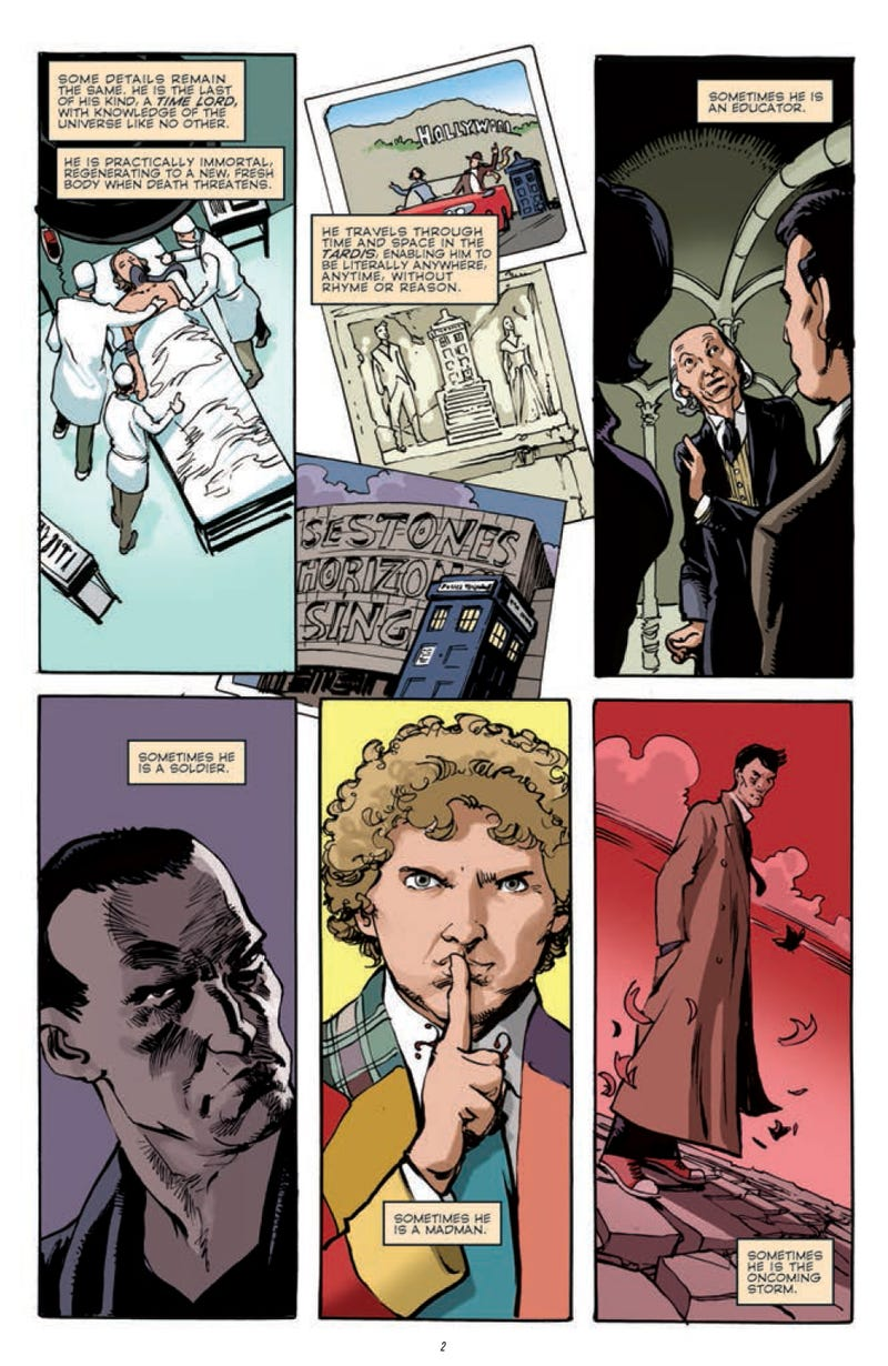New Doctor Who comic shows the Doctor's ultimate weakness